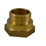 South Park HFM3414AB 2 NPT F X 2.5 NST M Female to Male Couplings Hex