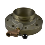 South Park BVF65MMH 6 VALVE FLANGE ONLY X CT MALE W/DRAIN VALVE Butter