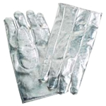 Aluminized High Heat Gloves Rayon Heavy ARH CPA