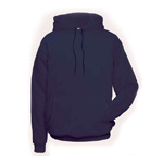 Chicago Protective 617-USFN Navy Ultra Soft® Hooded Sweatshirt