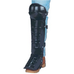 CPA Knee Shin Instep Guards Aluminum Alloy or Plastic