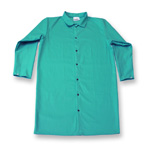 "Chicago Protective 602-GR 45"" Green FR Cotton Jacket"