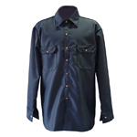 Chicago Protective 625-FR9B-N Navy Vinex® FR Work Shirt
