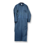 Chicago Protective 605-FR9B Navy Vinex® Coverall - Flame Resistant