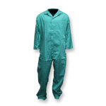 Chicago Protective 605-GR Green FR Cotton Coverall