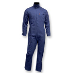 Chicago Protective 605-FRC-N Navy FR Cotton Coverall
