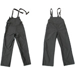 Chicago Protective 618-CX11 Black CarbonX® Bib Overall