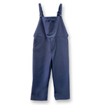Chicago Protective 618-IND-N Navy FR Cotton Bib Overall