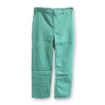 Chicago Protective 606-GW Green FR Cotton Pants, Heavier Weight