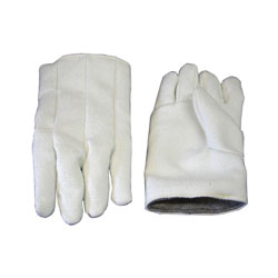 "Chicago Protective FA-231-Z 11"" Zetex® and Leather High Heat Glove"