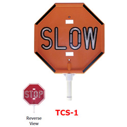 Star TCS-1 LED Stop/Slow Traffic Control Sign