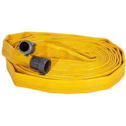 "ATI 56H15FX450N JAFX4 Fire Hose, four layer Rubber Hose, 1-1/2"" Dia, 50 ft, NST 1 PK"