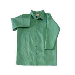 "Chicago Protective 601-GW 40"" Heavy Green FR Cotton"