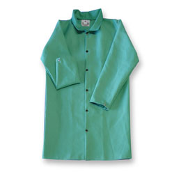 "Chicago Protective 603-GR 50"" Green FR Cotton Jacket"